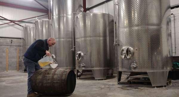 Whiskey Barrel Aged Cider