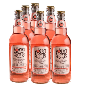 Longways Elderflower Case (12 Bottles)